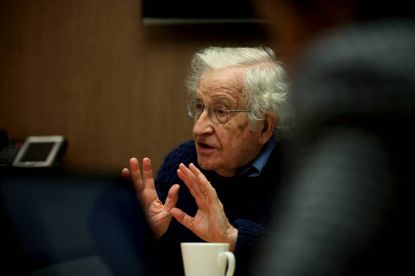 Chomsky: A Trump Presidency Would Be The End of Human Species